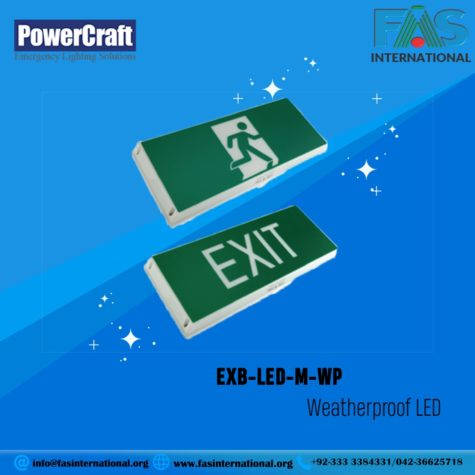 EXIT EXB-LED-M0WP WEATHERPROOF LED